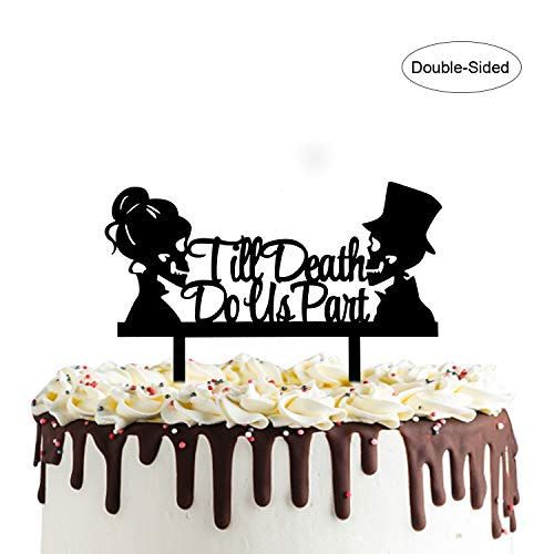 Till Death Do Us Part Cake Topper-