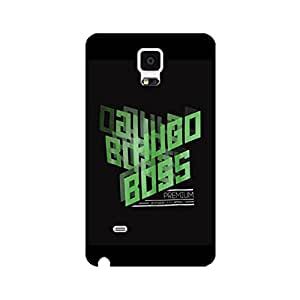 Durable Cover Shell Hugo Boss Mark Phone Case for Samsung Galaxy Note 4 Fashion Graceful Hugo Boss Logo Design Back Cover