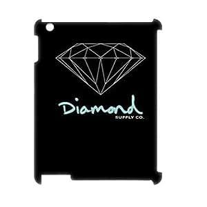 Diamond DIY 3D Case for Ipad 2,3,4, 3D Custom Diamond Case