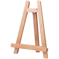 "10¼"" Tall Tabletop Easel - ATWORTH Small Wood Easel Painting Display Easel A-Frame"