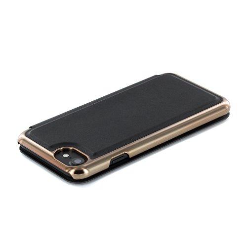 Ted Baker Shannon Étui à rabat avec miroir pour iPhone 7Noir