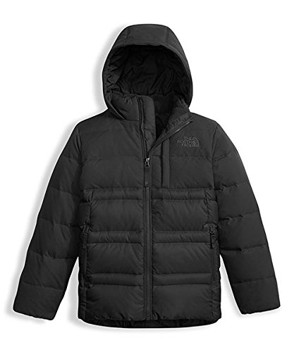 The North Face Big Boys' Franklin Down Jacket (Sizes 8 - 20) - tnf black, s/7-8 by The North Face (Image #2)