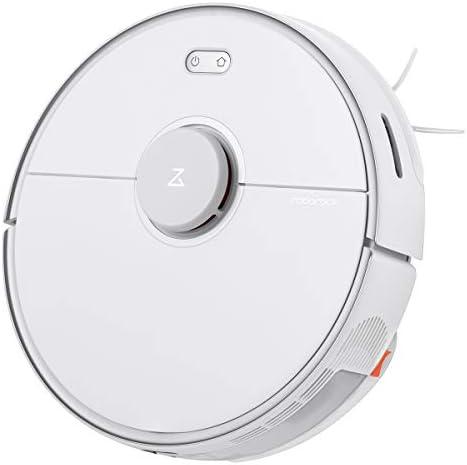 roborock Aspirateur robot, balayeuse, fonction d'essuyage, capteurs LDS, contrôle d'application (S5 Max Blanc) - Home Robots