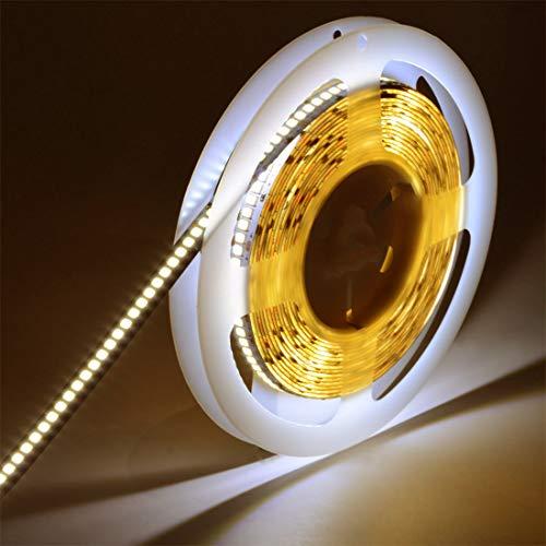 JOYLIT 120W DC24V SMD2835 1200 Units LEDs Flexible Natural White 4000K LED Tape Strip Lights Non-Waterproof LED Light UL CE Rosh Pack of 16.4ft/5m by JOYLIT