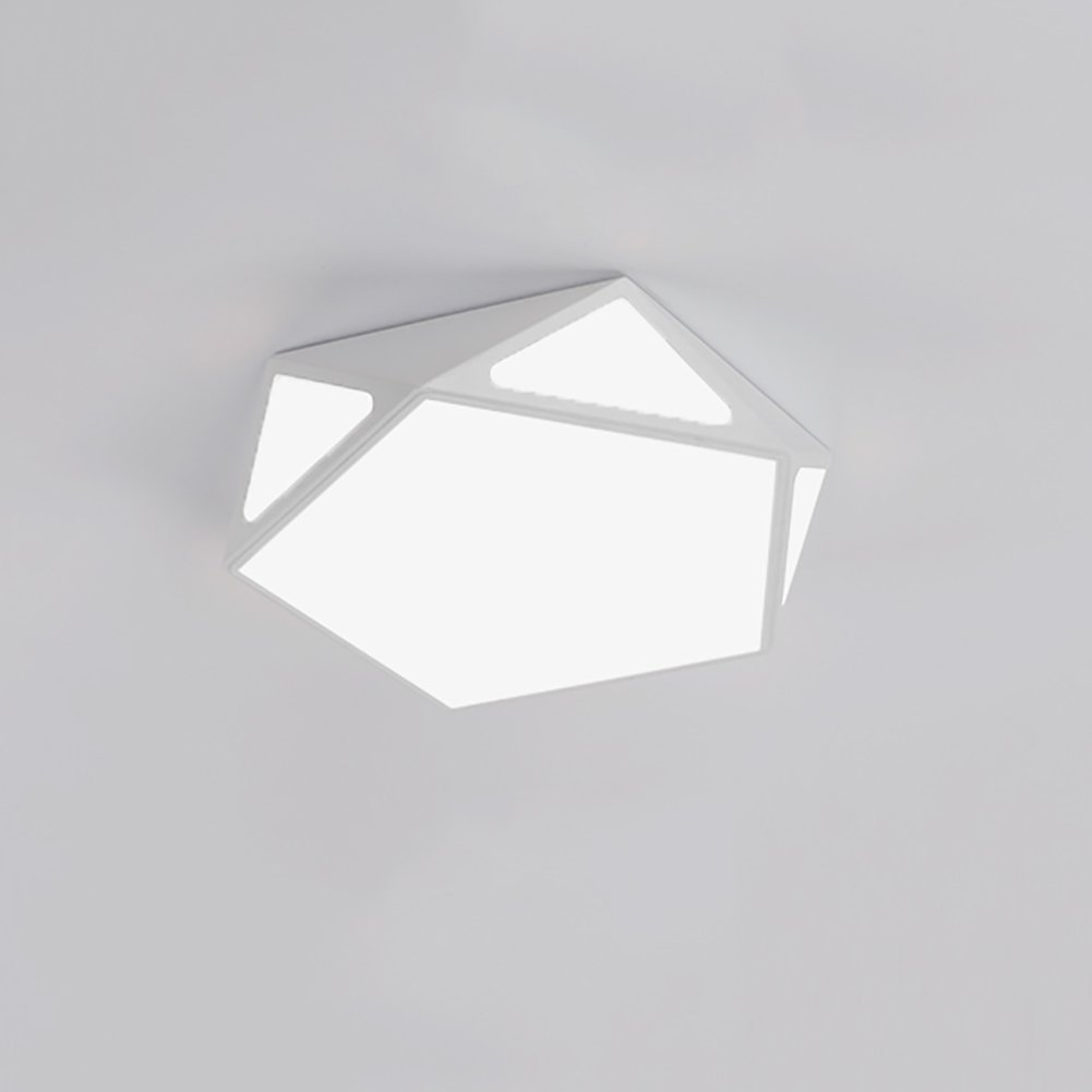 HOMEE Ceiling Chandelier-Chandelier Geometry Ceiling Lamps Led Bedroom Lights Simple Decorative Lights Creative Child Room Lights Warm White Cool White Lighting,Cool White-3910Cm