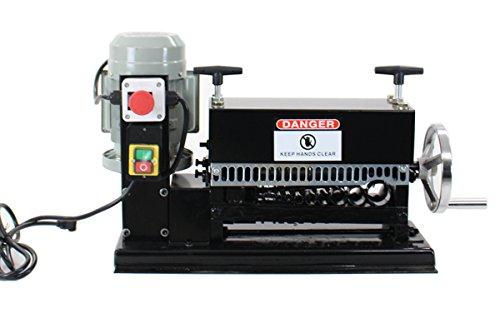 電動ワイヤーストリッパー ケーブルストリッパー ケーブル皮むき機 剥線機 1.5mm~35mm ブラック B00QLJV9JK