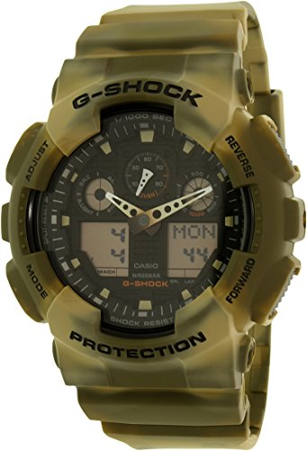 Casio G Shock Black Quartz GA100MM 5A