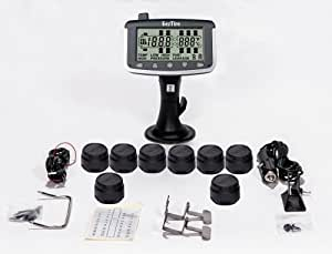 EEZTire Tire Pressure Monitoring System - 8 Sensors (TPMS)