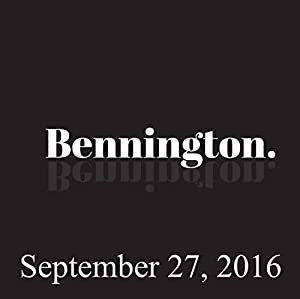 Bennington, Pamela Adlon, Rory Albanese, September 27, 2016 Radio/TV Program