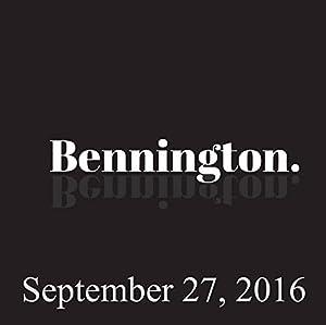 Bennington, Pamela Adlon, Rory Albanese, September 27, 2016 Radio/TV Program