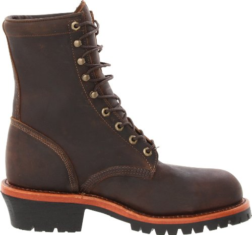 Chippewa Mens 8 Steel Toe Eh 20091 Boot Booter Al Cioccolato