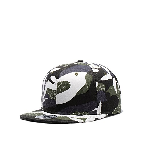 Used, Sunlitro Unisex Camouflage Flat Bill Hip Hop Hat Snapback for sale  Delivered anywhere in USA