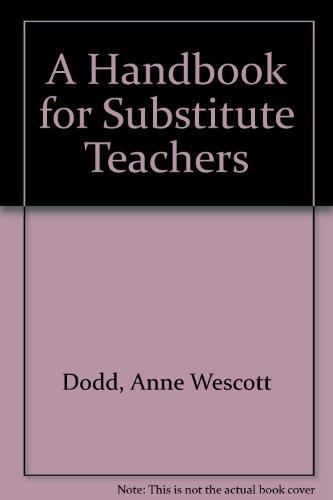 A Handbook for Substitute Teachers