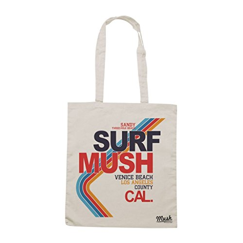 Borsa Surf Mush Venice Beach Los Angeles County - Panna - Mush by Mush Dress Your Style