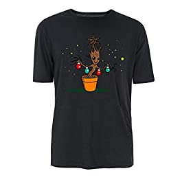 A Groot Xmas Story Baby Groot Marvel T-Shirt – Multiple Colours (S-XXL)
