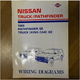 delorean wiring diagrams 1988 nissan pathfinder se truck king cab xe wiring diagram service  1988 nissan pathfinder se truck king