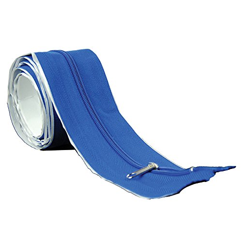 HTG Supply Tarp Zip-Up Self-Adhesive 6.5 Foot Instant Tarp/Tent Zipper by HTG Supply
