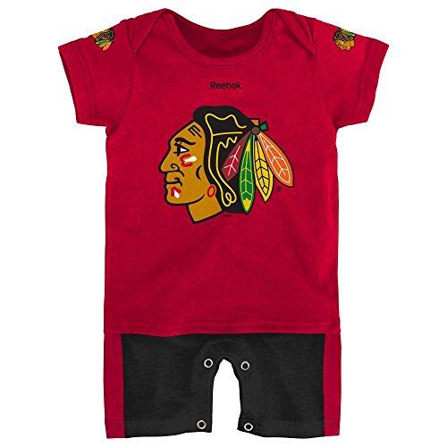 Chicago Blackhawks Hockey Newborn Jersey Romper, 0-3 Months