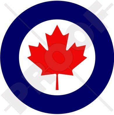 CANADA Canadian AirForce RCAF AIRCOM Aircraft Roundel 4
