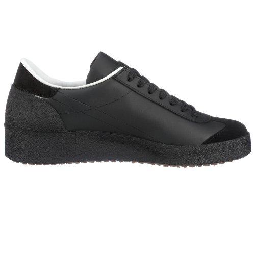 Bruetting - Zapatillas de deporte de cuero unisex Negro