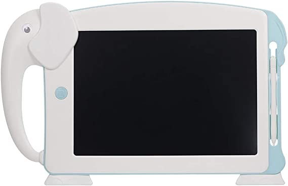 SNOWINSPRING 10.5インチのLCDライティングタブレット、デジタル電子描画ライティングボード、描画タブレット、落書きパッド、6枚のカード(ホワイト)