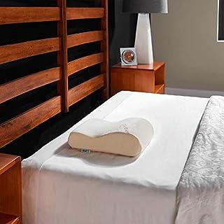 Tempur-Pedic TEMPUR-Neck Pillow Firm Support, Travel, White