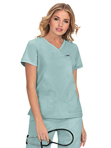 - KOI Stretch 247 Women's Nicole Scrub Top Sage S