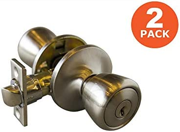 Design House 728840 Gateway Terrace Double Entry Combo Satin Nickel