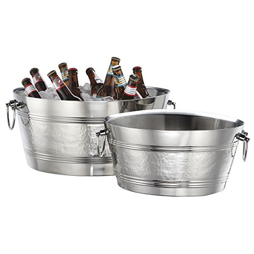American Metalcraft DWBT15 Tubs, 15'' Length x 15'' Width, Silver by American Metalcraft (Image #2)