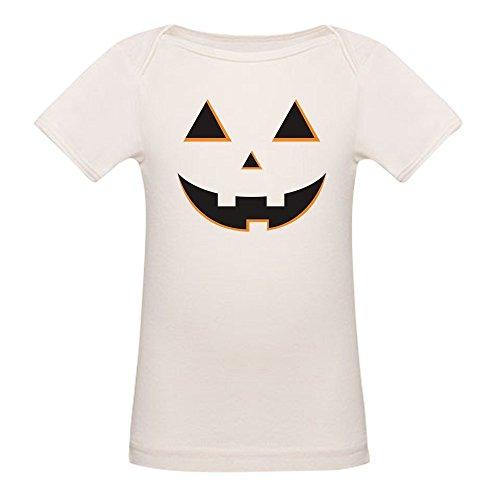 CafePress - Pumpkin Face - Organic Cotton Baby T-Shirt -