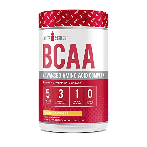 Complete Nutrition Ignite Series BCAA Advanced Amino Acid Complex (Pineapple Cooler)* Supports Muscle Growth, Hydration, Stamina