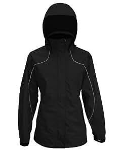 Viking Women's Creekside Tri-Zone Waterproof Insulated Winter Jacket, Black, Small