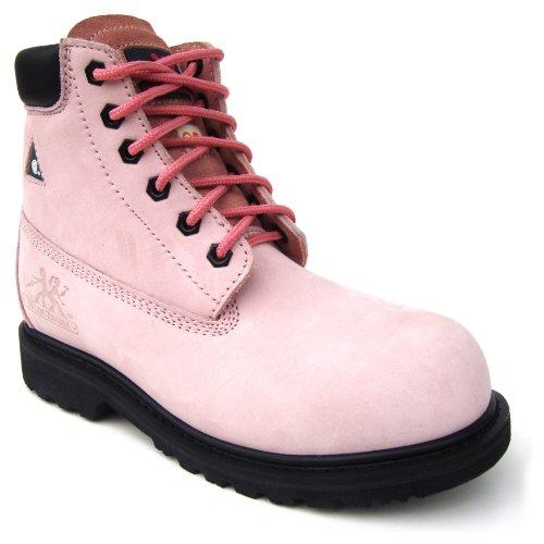 Moxie Trades Womens Betsy Xtreme Pink Nubuck JHKN2Deg