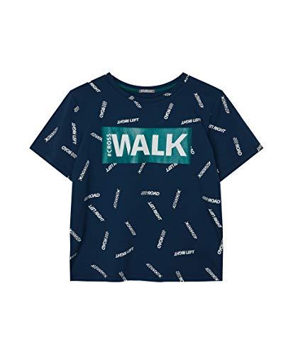 GULLIVER Tiener Jongens T-shirt Kinderen Hemd Wit Beige Zomer Elastische Print Kinderkleding Tieners van 9-14 Jaar