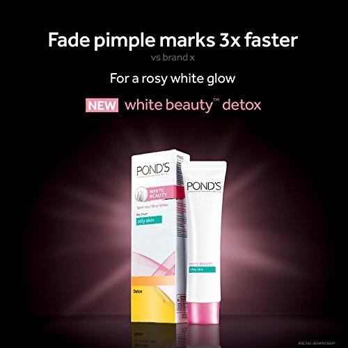 Detox Spot-Less White Cream (40g) (Ponds White Beauty Detox)
