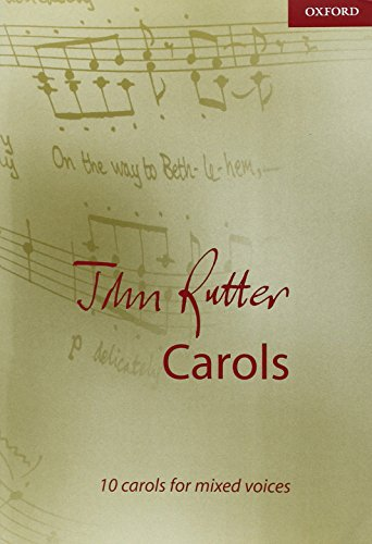 - John Rutter Carols: Vocal score (Composer Carol Collections)