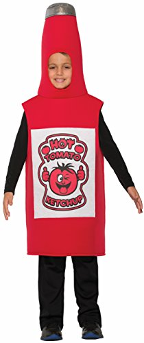 Ketchup Bottle Costume (Forum Novelties Kids Ketchup Costume, One Size)