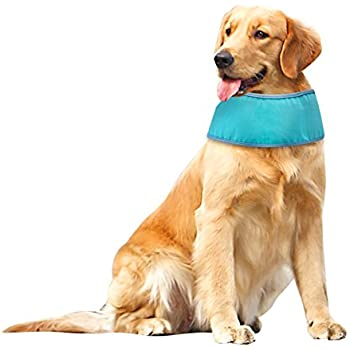 Dog Cooling Bandana Ice Chill Out Scarf for Summer Large