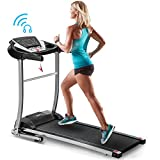 Merax Folding Treadmill Electric Motorized Treadmill with Speakers for Home Use,Easy Assembly...