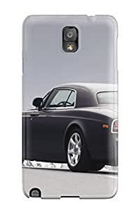New Snap-on BowenTiffany Skin Case Cover Compatible With Galaxy Note 3- Rolls Royce Phantom 20