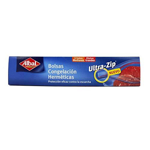 Bolsas De Congelación Herméticas Ziploc Albal Grandes 12 + 8 ...