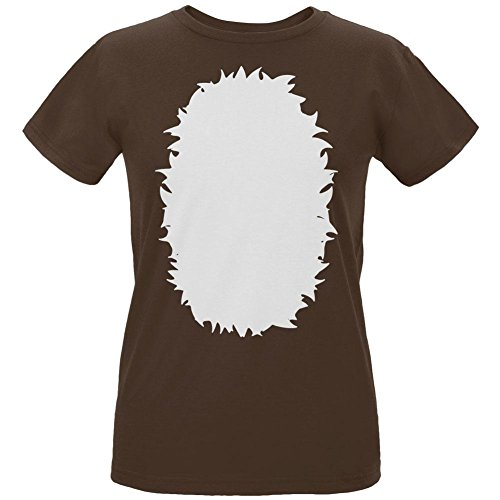 Old Glory Halloween Baby Deer Fawn Costume Womens Organic T Shirt Chocolate SM]()