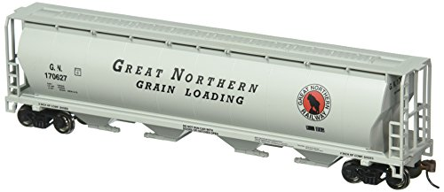 Bachmann Trains Great Northern 4 Bay Cylindrical Grain (Bachmann Cylindrical Hopper)