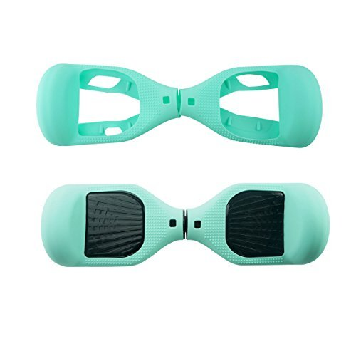 FBSPORT 6.5inch Silicone Scratch Protector Cover Case For 2 Wheels Self Balancing Electric Scooter (Light GN-1) by FBSPORT