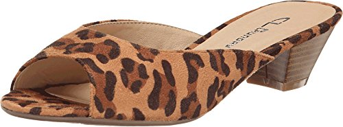 Leopard Print Mule - CL by Chinese Laundry Women's Heather Mule, Camel Leopard, 7 M US