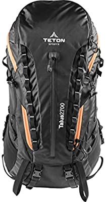 TETON SPORTS Talus 2700 Backpack; Lightweight Hiking Backpack for Camping, Hunting, Travel, and Outdoor Sports; Included Poncho Covers You and Your Pack from Rain Or Use It As A Shelter by Teton Sports