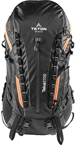 TETON Sports Talus 2700 Backpack; Ultralight Backpacking Gear; Hiking Backpack for Camping, Hunting, Mountaineering, and Outdoor Sports; Free Rain Cover Included by Teton Sports