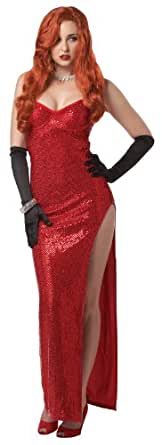 Adult Silver Screen Sinsation Costume (SZ:SM 6-8)
