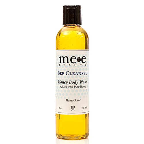 Price comparison product image Mee Beauty Moisturizing Body Wash and Shampoo for Dry Sensitive Skin, Honey 8 oz