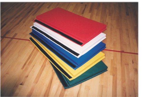 Panel Color End (6 x 12' folding mat velcro ends, 2' fold, 2' panel, 2-color, 2